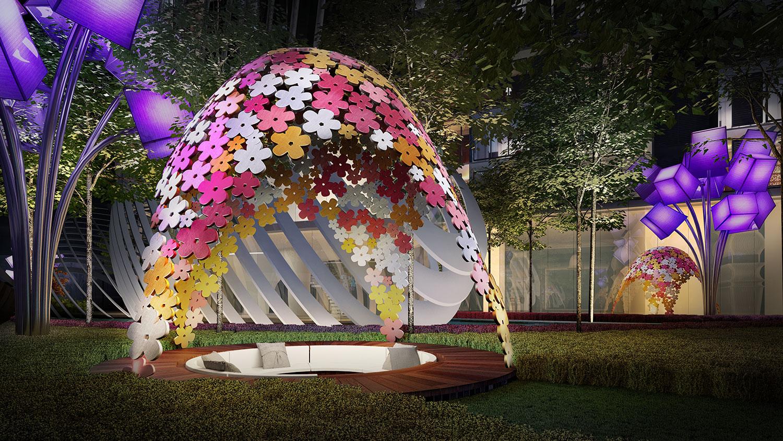 Arte Mont Kiara The Blooms