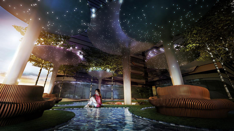 Arte+ Floating Fantasy Garden
