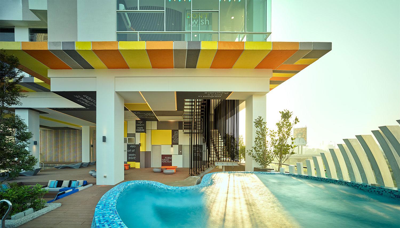 Artist Pallete Swimming Pool