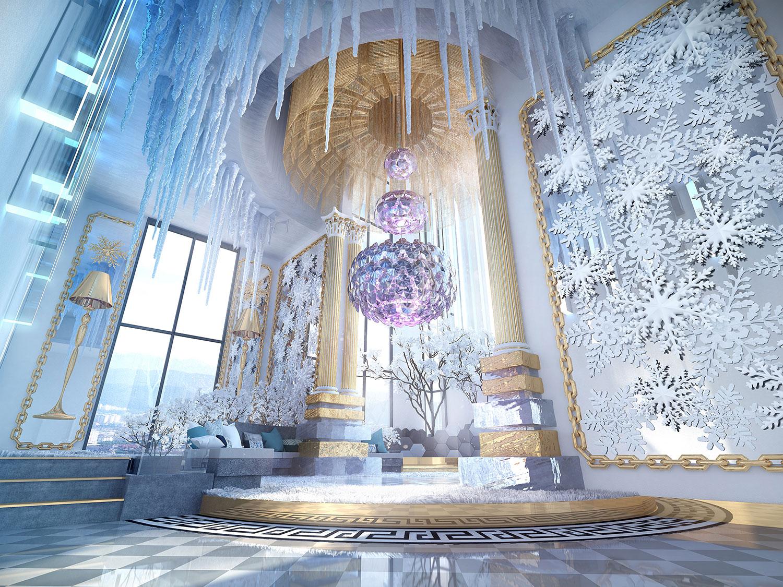 Arte Cheras Winter Wonder Lounge