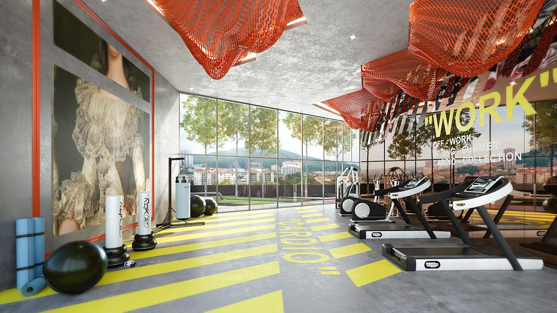 Arte Cheras Rebel Gym