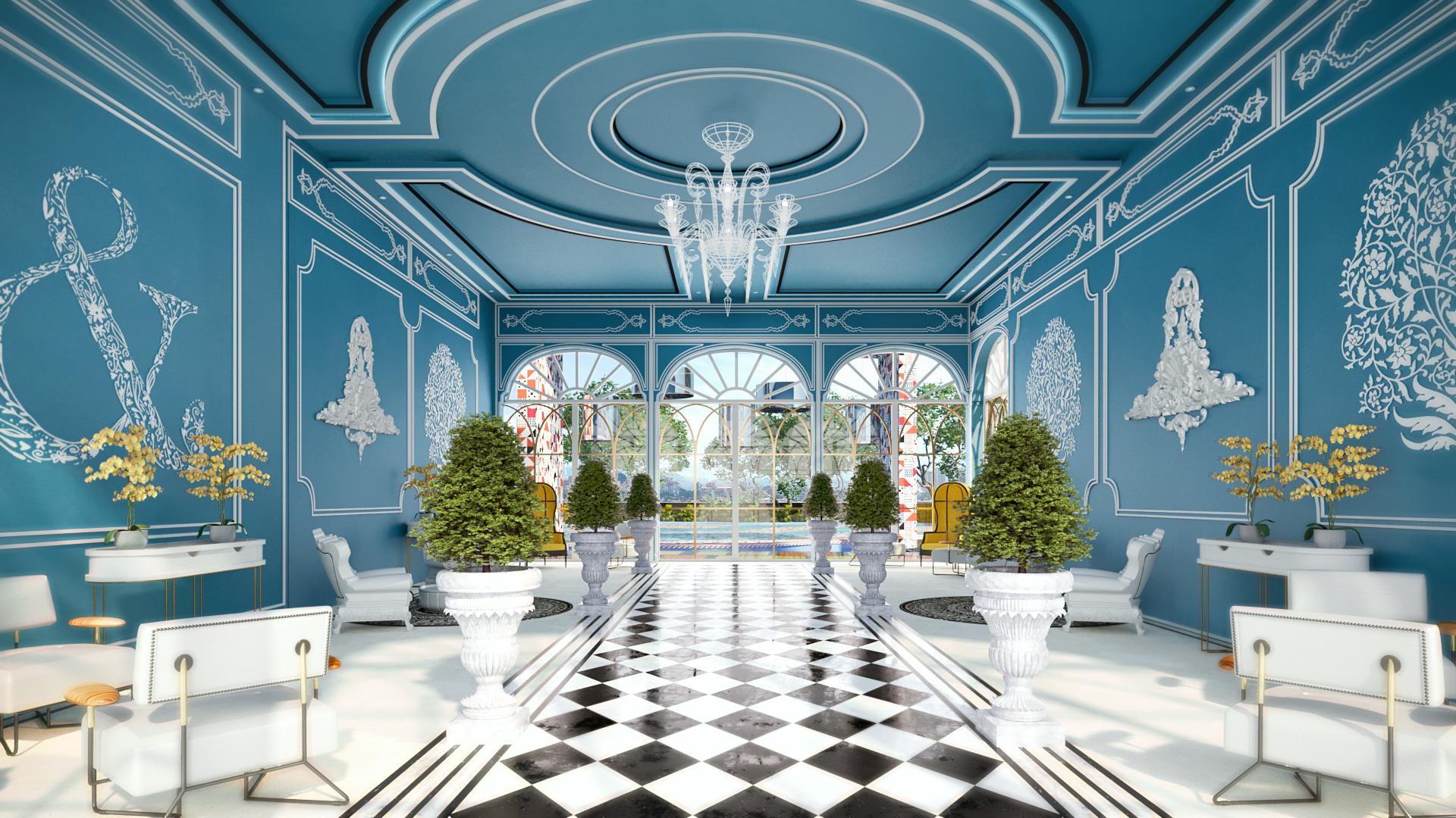 Blue Tea Room